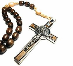 Made In Italy Rosary Blessed By Pope Francis Vatican Rome Holy Father Medal C...