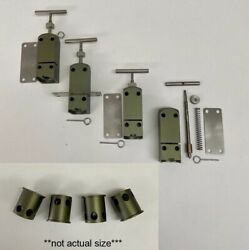 4 Pack 12 Gauge Trip Wire Alarm The Quad Gen 2.5 W/ Ramset Adapter -olive Drab