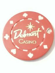 Delmont Casino Pennsylvania 1.00 Canceled Gaming Chip Great For Any Collection