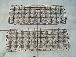 Original 1930's To 1940's Pickup Truck Seat Springs Set Matched Pair Oem Frames