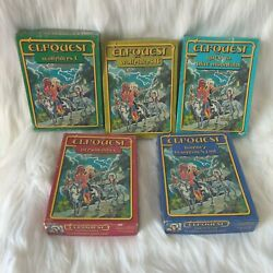 Ral Partha Elfquest 5 Sets Of Pewter Gaming Miniatures.