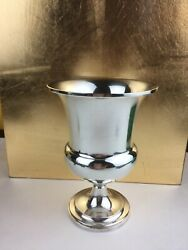 Tiffanyandco Sterling Silver Cup. Goblet Kidush Cup .cup