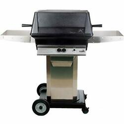 Pgs A40 Cast Aluminum Grill On Stainless Steel Portable Pedestal Base Lp