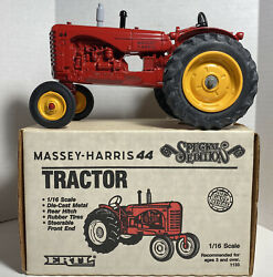 Massey-harris 44 Special Edition 1/16 Scale Wide Front End Diecast Tractor 1898