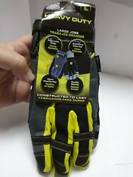 New With Tags Pugs Impact Heavy Duty Work Gloves