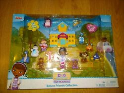Doc Mcstuffins Toy Hospital Deluxe Friends Collection Disney Junior Mib New
