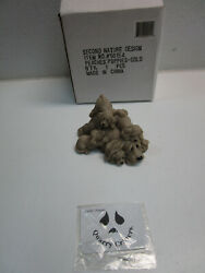 Second Nature Design Quarry Critters And039peachespuppiesand039 In Box - Fast Ship