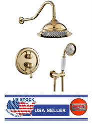 8 Inches Concealed Shower System-2 Mode Filtering Shower Head- Gt