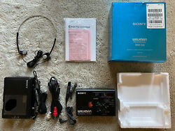 Rare Vintage Sony Walkman Wm-d3 Professional - Nm - Working - Complete With Box