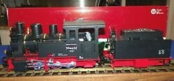 Lgb 21261 Dr Steam Locomotive And Power Tender Smoke And Amp Lights G Scale