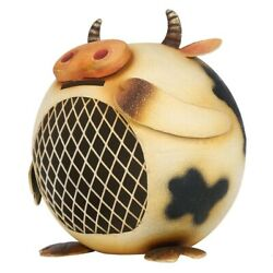 Piggy Bank Cow Coin Money Saving Animal Room Ornament Friends And Family Gift