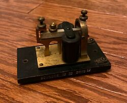 Antique Western Electric Telegraph Sounder 3b 20 Ohms - Great Condition