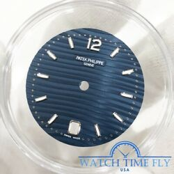 Patek Philippe Nautilus Ladies 35.2mm Blue Opaline Dial Dial Only For 7118/1a