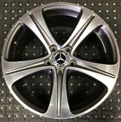 One Used 2017-2018 Mercedes E-class 18x8 Oem Wheel A 213 401 14 00 Gray 1625
