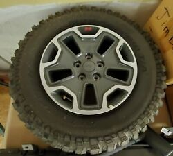 2015 Jeep Wrangler Rubicon Wheels And Suspension Parts All Basically New.
