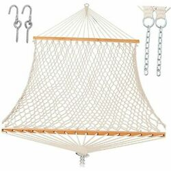 Rope Hammocks For Outside Large Double With Spreader Bar Traditional Natural