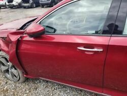 Driver Left Front Door With Laminated Glass Fits 18-19 Accord Red
