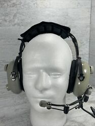 Softcomm Silver Edition Model C-60 Aviation Pilot Noise Reducing Headset