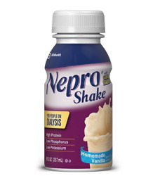 Abbott Nepro with CARBSTEADY Shake Homemade Vanilla Case of 24 FREE SHIPPING
