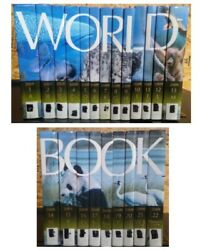World Book Encyclopedia Set 2009 Complete 22 Books Diversity Of Life Spinescape