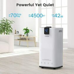 New Colzer 70 Pints 4500 Sq Ft Home Dehumidifiers For Basements And Large Rooms