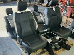 2010-2018 Dodge 1500 2500 3500 Front Seat Set W/bag Bucket Leather Electric