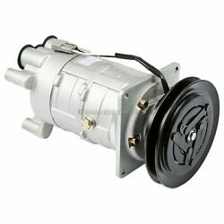 Ac Compressor And A/c Clutch For Chevy Gmc And Audi W/ 5.58 1-groove A6