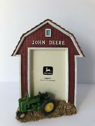 John Deere Tractor Picture Photo Frame 3d Resin Tabletop Displays 3 X 5