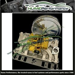 Holden V8 253 Manifold And Carburettor Package 2194 450 Cfm Reco Holley Air Filter