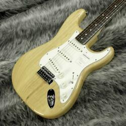 Fender Stratocaster Heritage 70s Natural /rw Electric Guitar Made In Japan