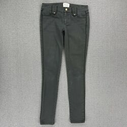 Skaist Taylor Womenand039s Pants Size 25 Dark Gray Stretch Military Skinny Low Rise