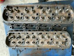 1966 Ford Mustang Fairlane Falcon Galaxie 289 Cylinder Heads 5m13 Matching Dates