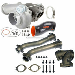 Garrett Powermax Turbo And Charge Pipe Kit For Ford F250 F350 And Excursion 7.3l