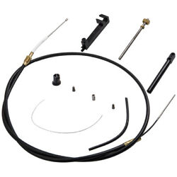 Shift Shifter Cable Kit For Mallory Part For Sierra Part 865436a02 19543a8