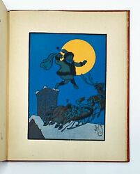 W W Denslow Clement Moore / Denslowand039s Night Before Christmas 1st Edition 1902