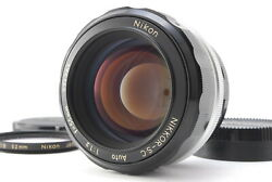 Mint/ Nikon Nikkor-s.c Auto 55mm F1.2 Lens From Japan 1402