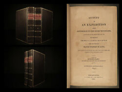 1823 1ed Expedition To Rocky Mountains Indians Sioux Torture Rituals Long James