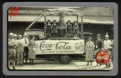 Coca-cola And03995 5. Coke Phone Cards Old Ads - Cplt. Set Of 10 Diff. Phone Card