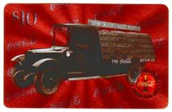 Coca-cola And03996 10 Microlined Coke Trucks Set Of 10 Different Phone Card