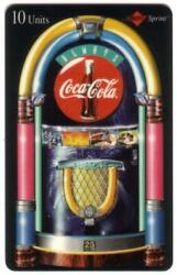 Always Coca-cola And039jukeboxand039 W/ 5x 10m Coke Cards In Folder Set Of 5 Phone Card