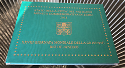 Vatican 2 Euro 2013 Commemorative Coin Uncirculated In Blister
