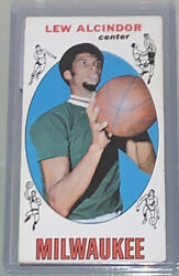 1969-1970 Topps Basketball Complete Set - Lew Alcindor Rookie Card