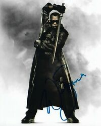 Wesley Snipes Blade Autographed 8 X 10 Signed Photo Coa