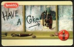 10m 1995 Smithand039s Coca-cola Set Of 4 Different Coke Cards Phone Cards