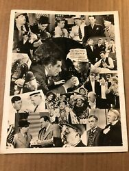 Tammany Young Extremely Rare Early Autographed 8/10 Photo 30s W.c. Fields