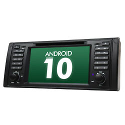Eonon 7 Android 10 Single Din Car Stereo Gps Dvd Touch Screen For Bmw E39 2002