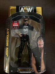 AEW Unrivaled Series 5 Jon Moxley Chase 1 5000 RARE Action Figure