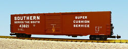 Usa Trains G Scale 60 Ft Single Door Box Car R19420a Southern