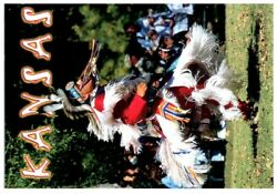 Bulk Lot Of 1000 Haskell Indian Nations University Dancers Postcards - New