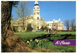Bulk Lot Of 1000 K-state Anderson Hall Postcards - New And Unused